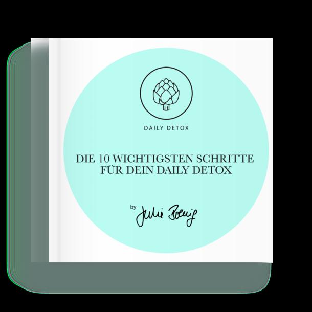 10 Schritte Daily Detox - Julie Christin Boenig